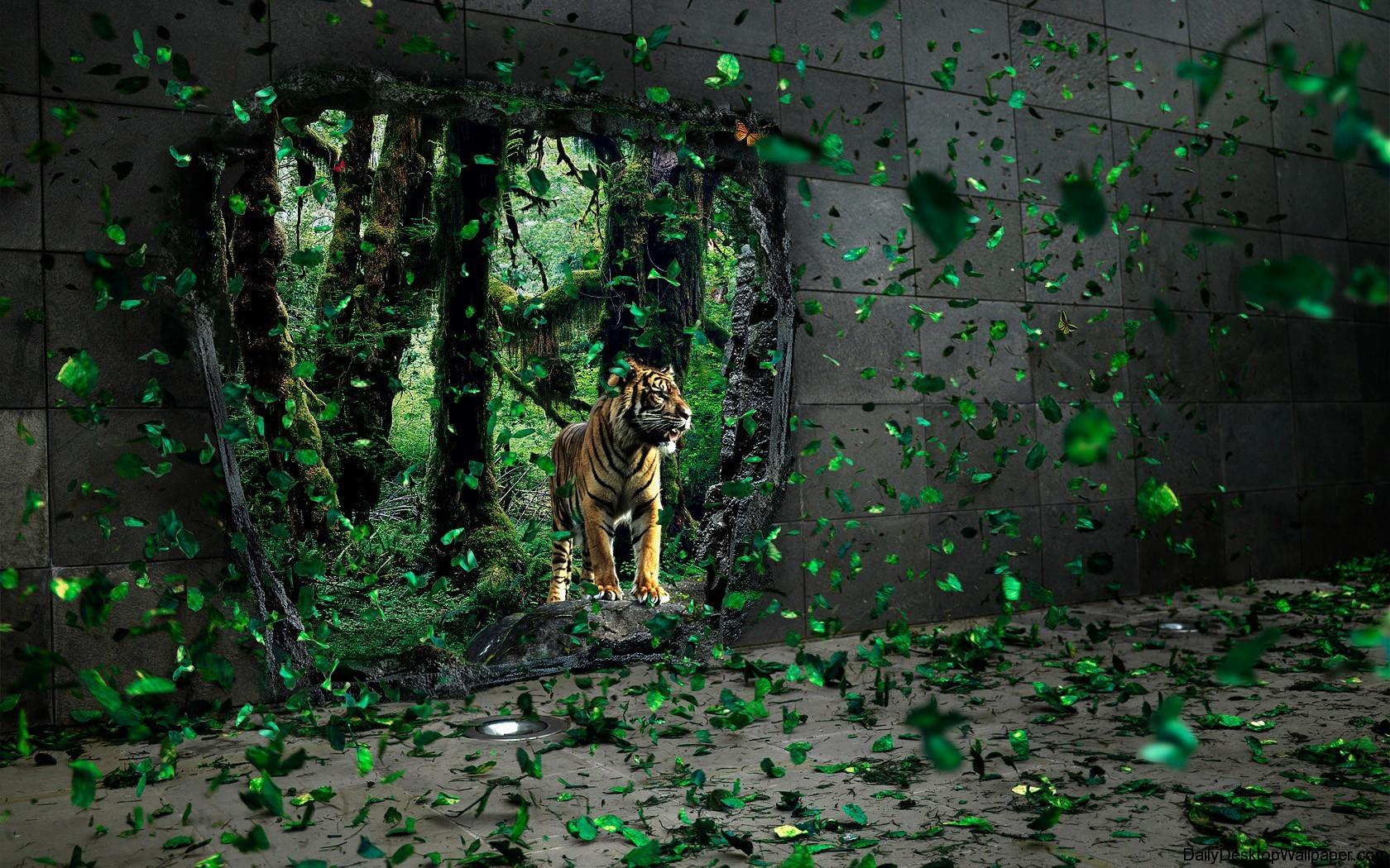 High resolution fierce animal wallpaper