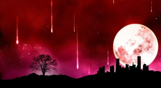 Big Moon Backdrop Wallpaper