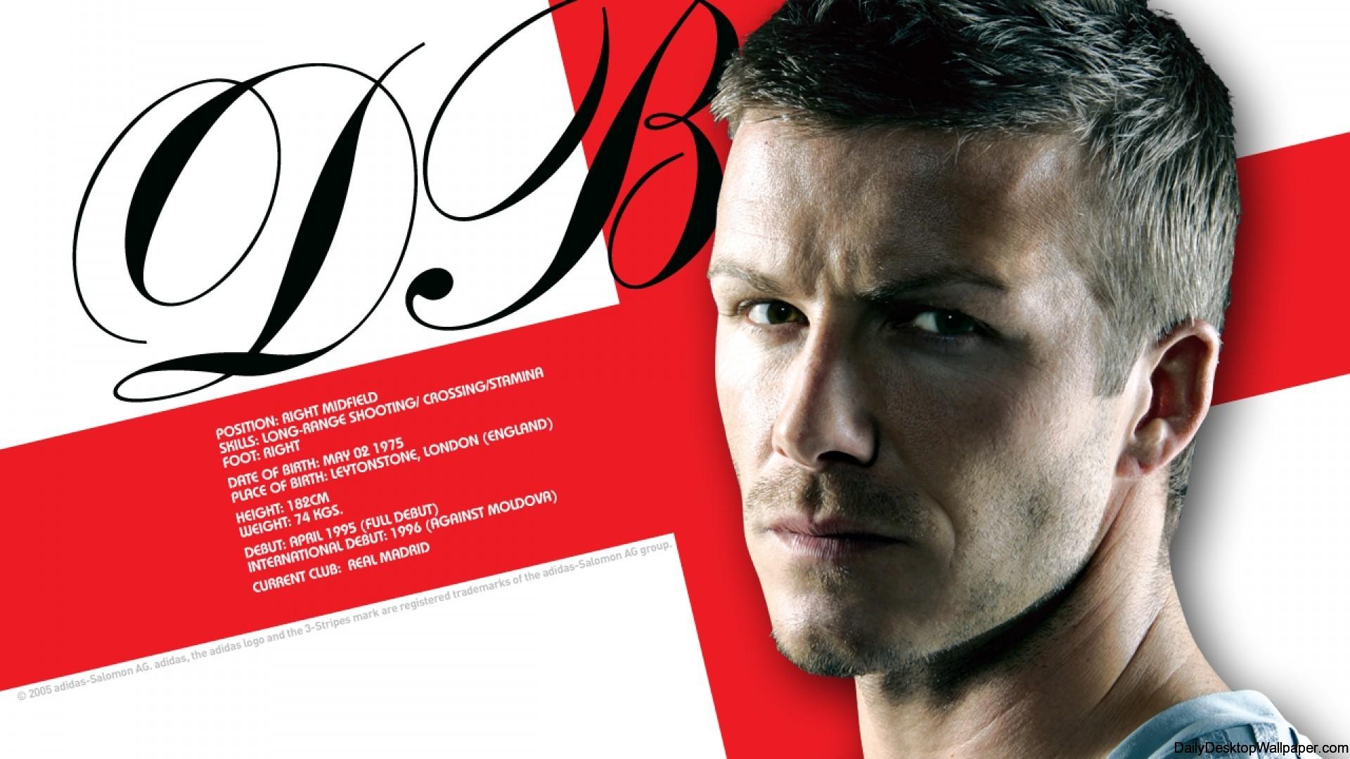 David Beckham Soccer Wallpaper