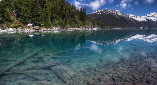 Clear lake wallpaper