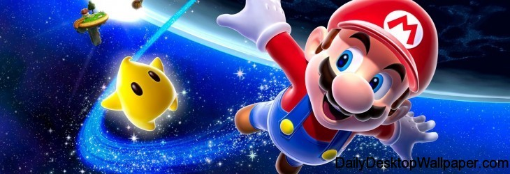 Super Mario Galaxy wallpaper