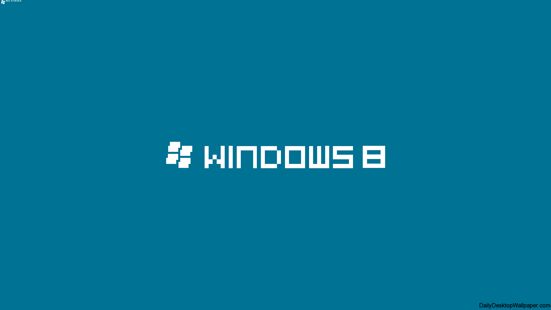 Windows 8 Pixelated Wallpaper