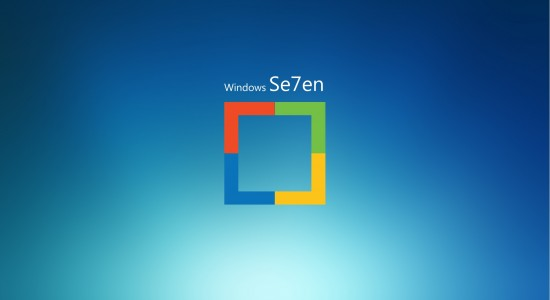 Windows Se7en Wallpaper