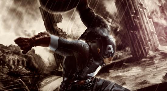 Captain America High Resolution Wallpaper