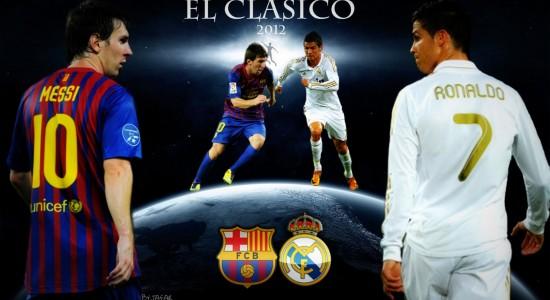 Messi and Ronaldo 2012
