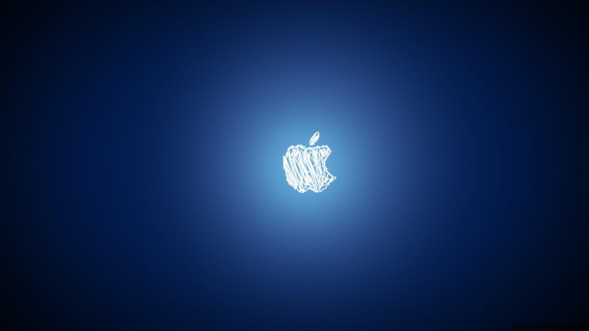 Scirbbled Apple Logo Wallpaper wallpaper - 964661