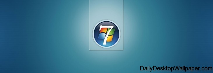Windows 7 Blue Wallpaper