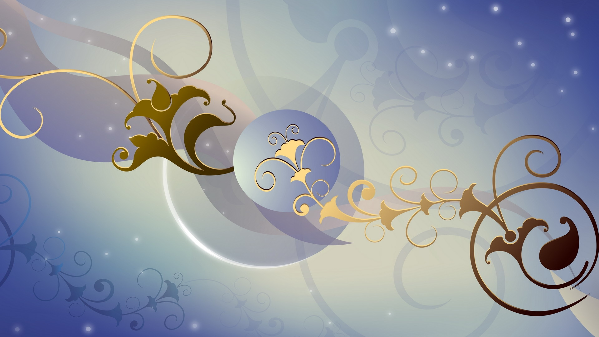 Abstract swirls Wallpaper