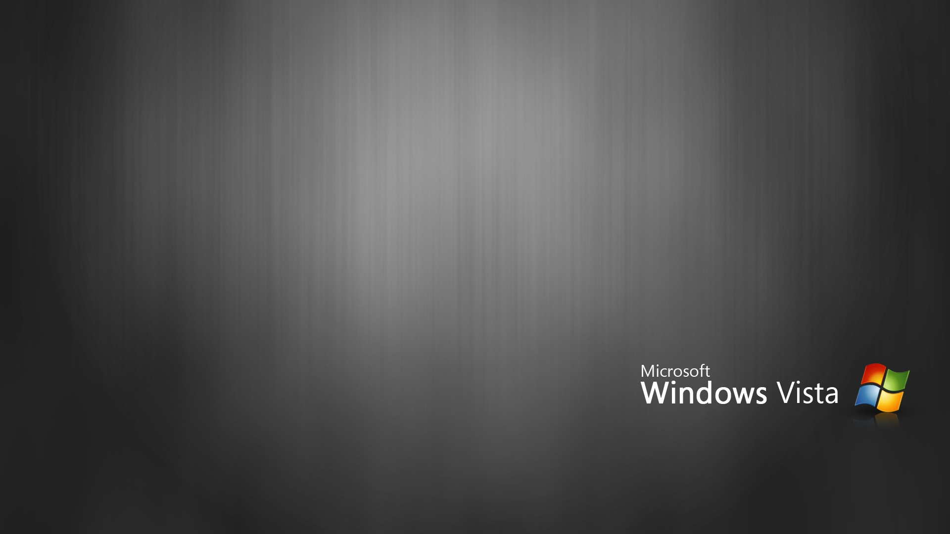 Black Windows Vista Wallpaper