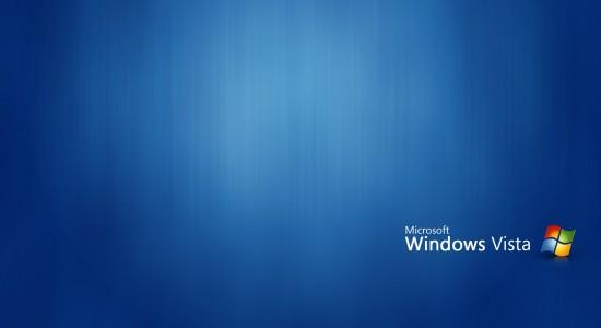 Blue Windows Vista High Wallpaper