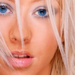 Christina Aguilera Face Wallpaper