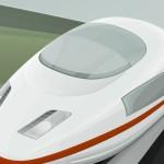 High speed cartoon train wallpaper