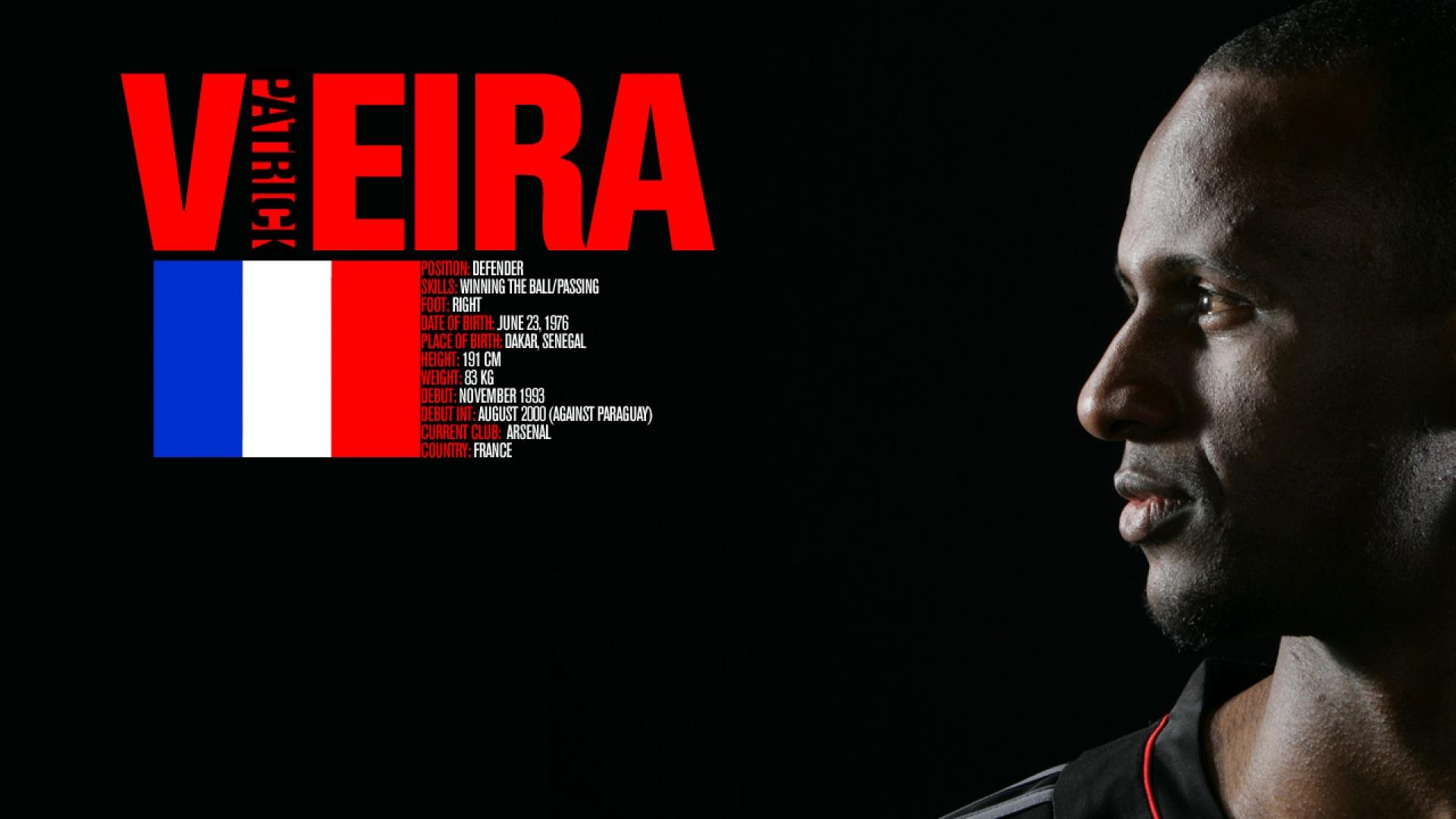 Patrick Viera Soccer Wallpaper