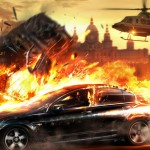 Wheelman Fire wallpaper