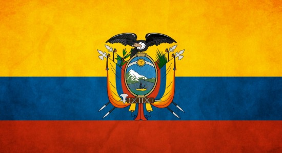 Ecuador Flag Wallpaper