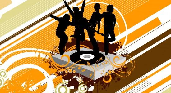 Vector music wallpaper