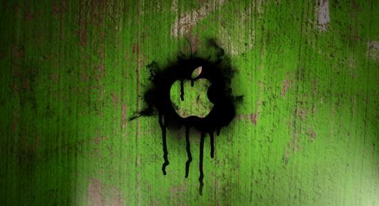 Apple Spray Paint wallpaper
