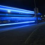 Fast moving light wallpaper