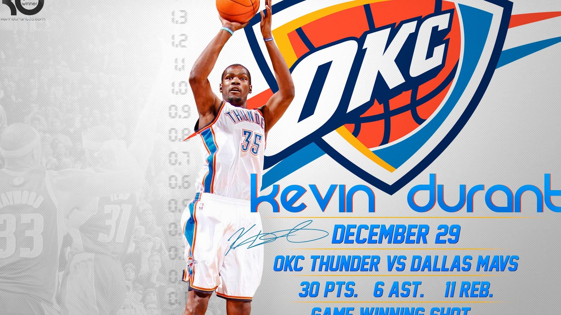 Kevin Durant NBA Wallpaper