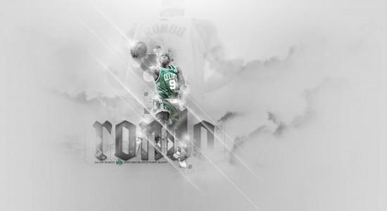 Rajon Rondo Layup basket ball wallpaper