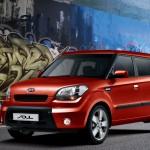 Small Kia car wallpaper