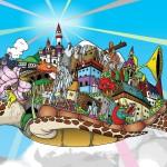 Windows 7 Wallpaper Cartoon wallpaper