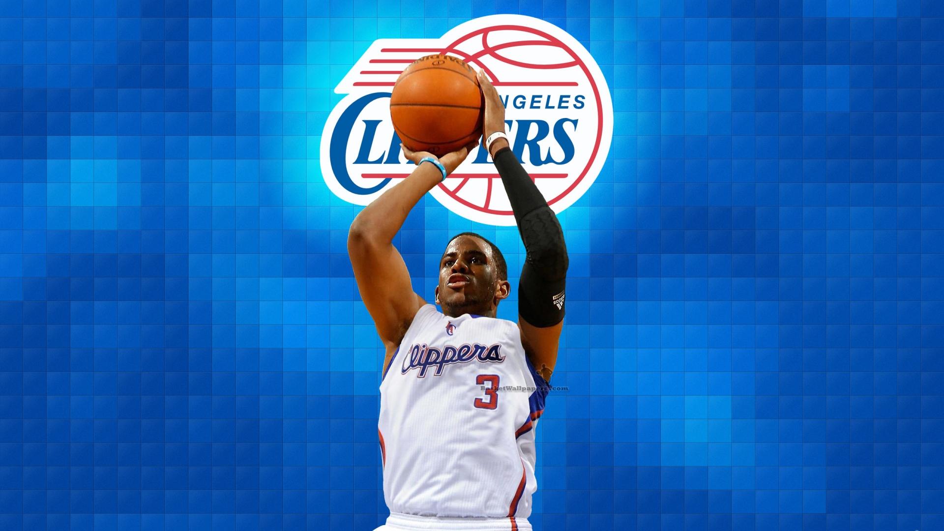 Chris Paul LA Clippers 2012 NBA Wallpaper