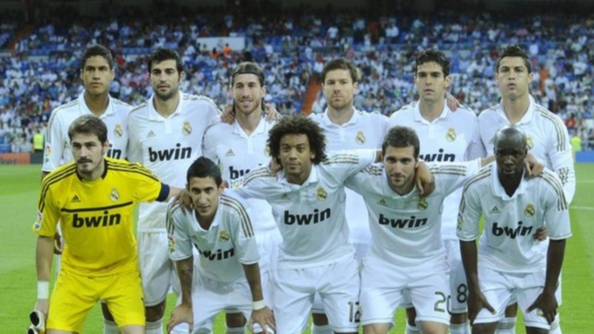 Real Madrid Team Wallpaper