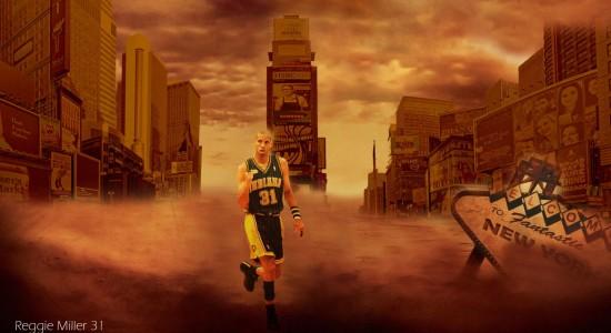 Reggie Miller Pacers NBA Wallpaper