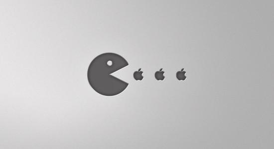 Apple Pacman Wallpaper