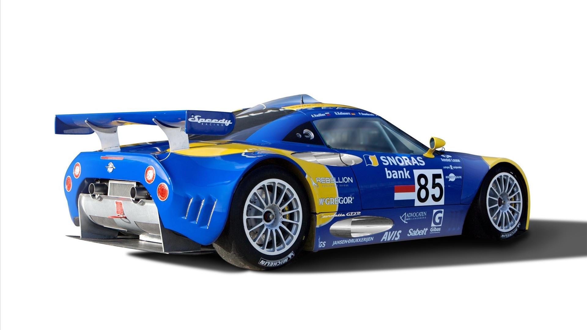 High speed sports car