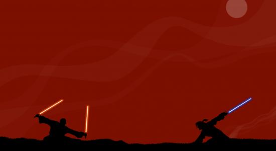 Jedi VS Sith Wallpaper