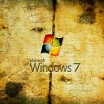 Worn Windows 7 Wallpaper