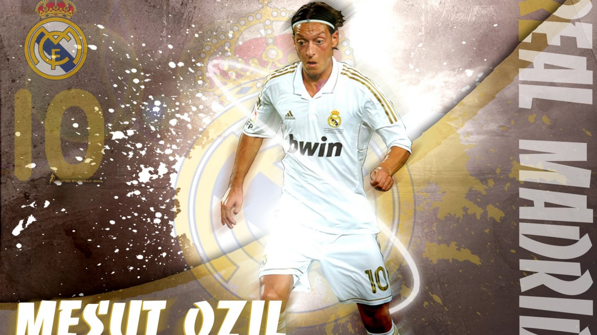 Real Madrid Wallpaper Mesut Ozil Wallpaper