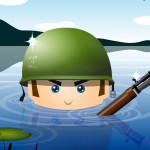 Cartoon soldier wallpaper