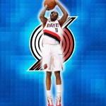 Jamal Crawford Blazers basketball wallpaper