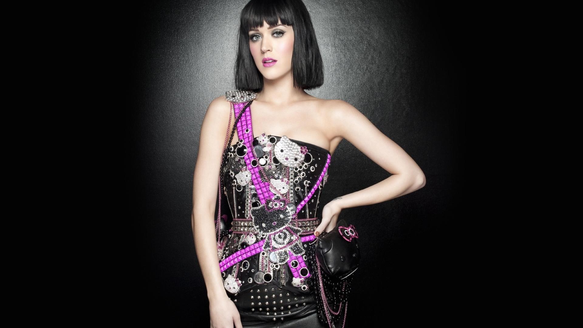 Katy Perry rocker dress wallpaper