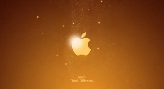 Golden Apple Wallpaper