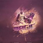 Magic Lakers NBA wallpaper