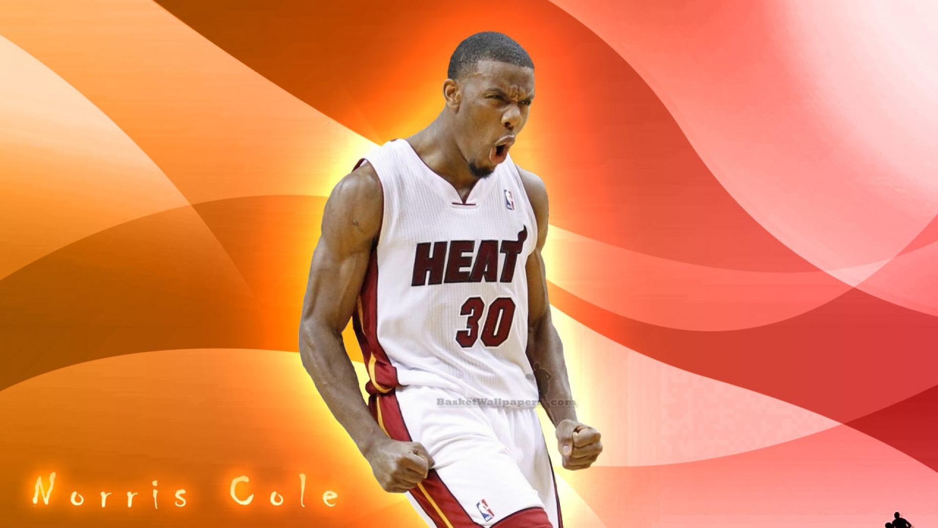 Norris Cole Basket Ball wallpaper