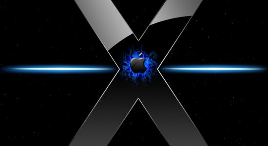Blue OS X Wallpaper