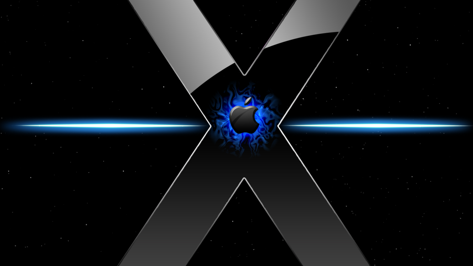 X Hd Wallpapers: Blue OS X Wallpaper