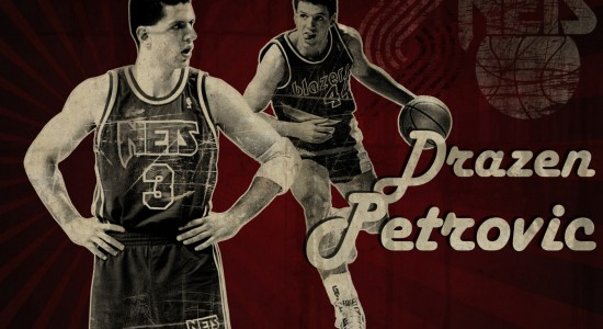 Drazen Petrovic basketball wallpaper