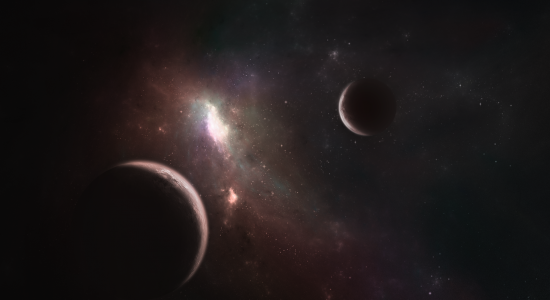 Outer Space Planet Wallpaper
