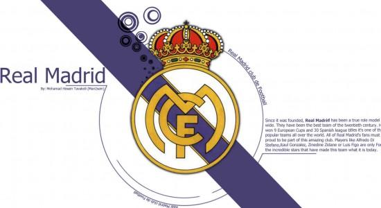 Real Madrid Diagonal Wallpaper