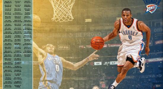 Russell Westbrook 2012 Basketball wallpaper