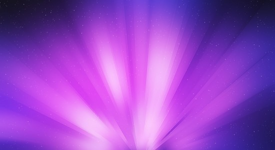 Purple Beam Wallpaper
