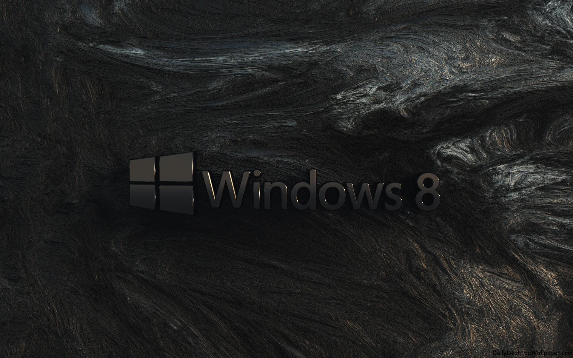 Black Bark Windows 8