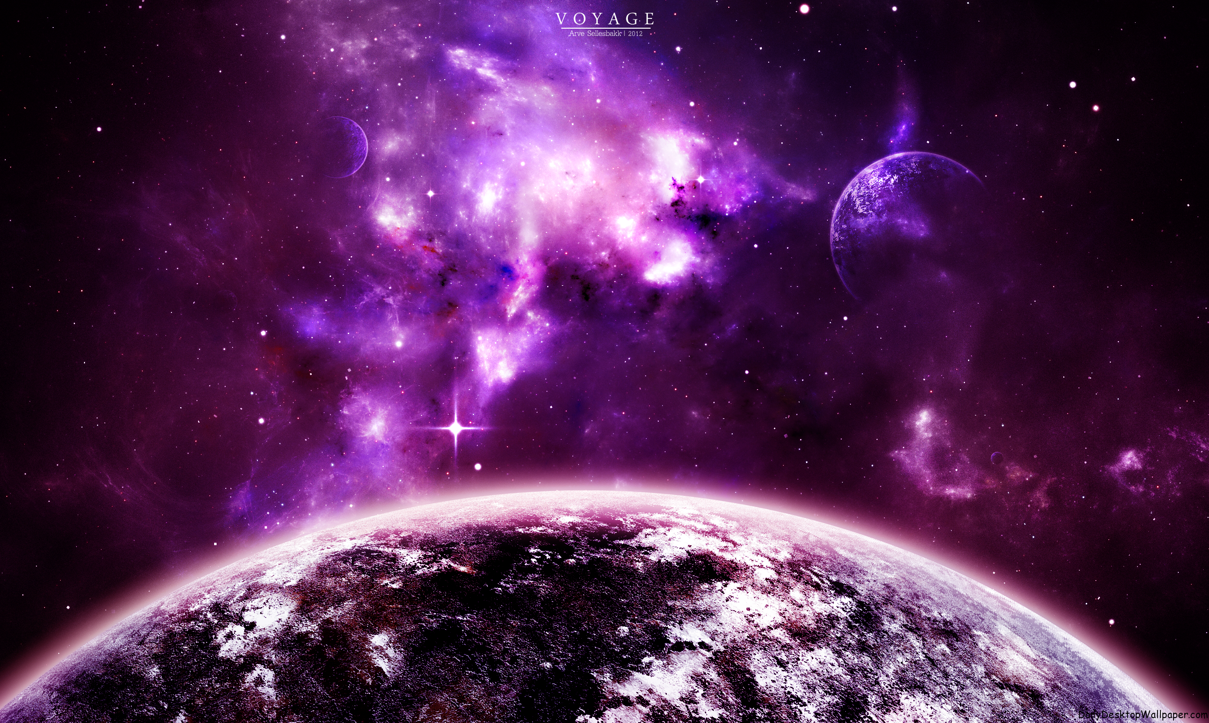 Purple voyage hd wallpapers - Purple space wallpaper ...