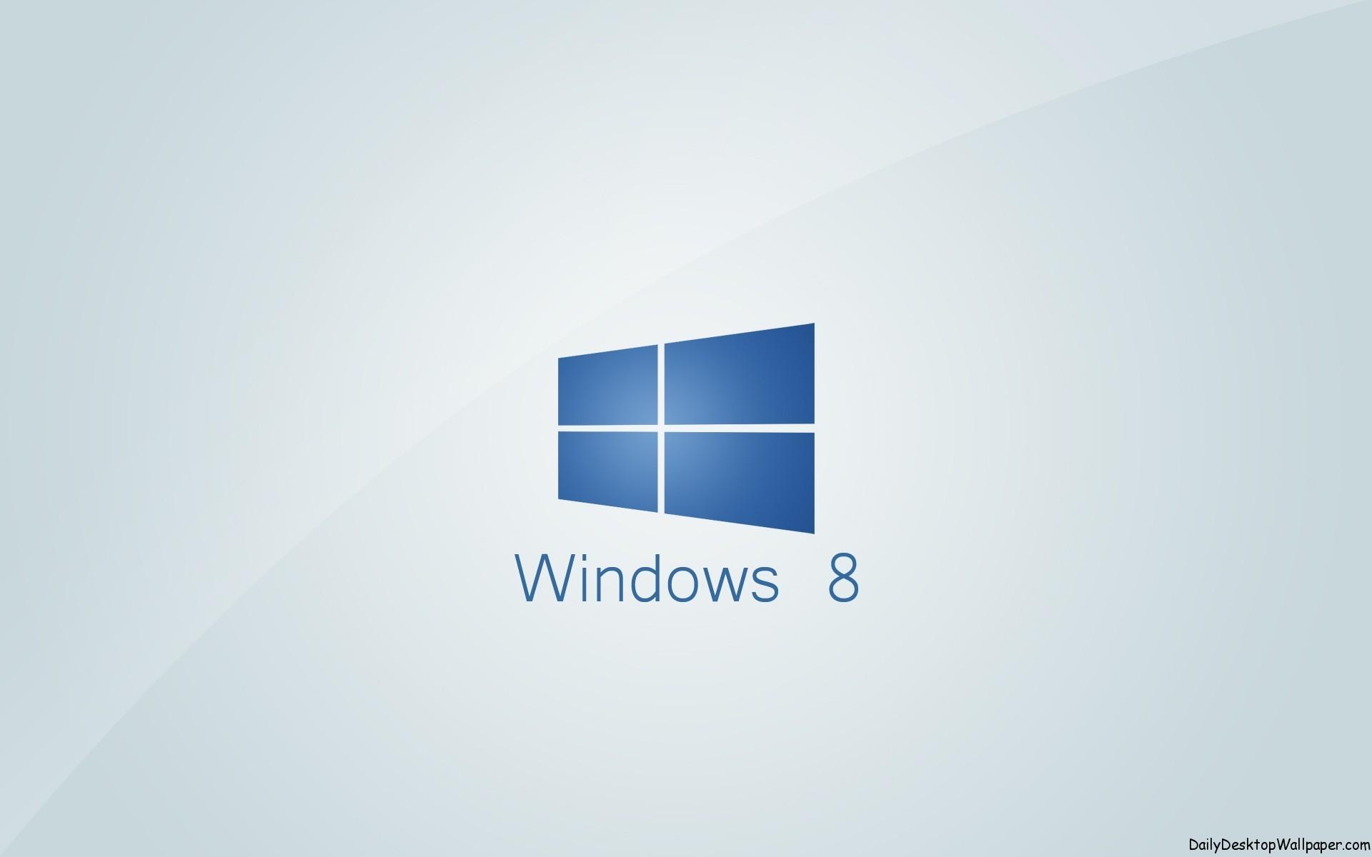 Window 8 Blue